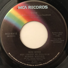 ROSE ROYCE:CAR WASH(LABEL SIDE-B)