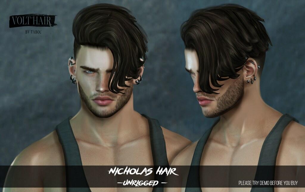 Nicholas Hair - TeleportHub.com Live!