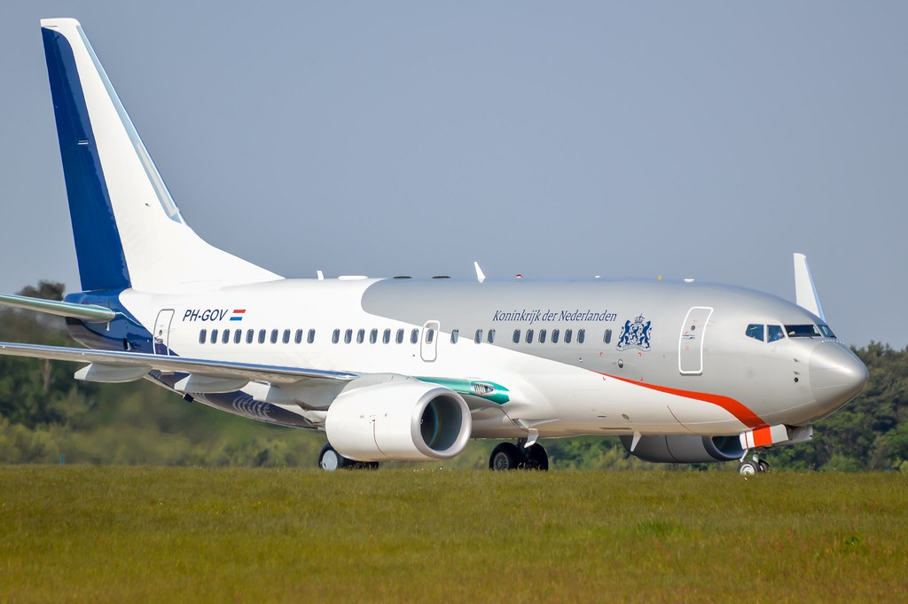Dutch goverment 737BBJ (PH-GOV)