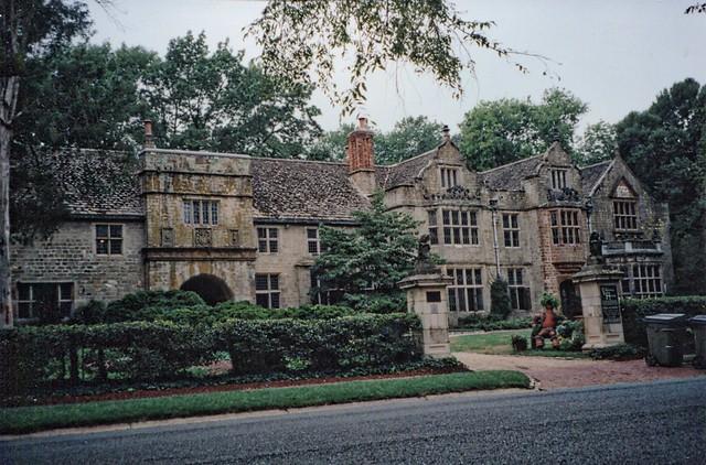 Richmond Virginia - Virginia House -  Tudor Architecture