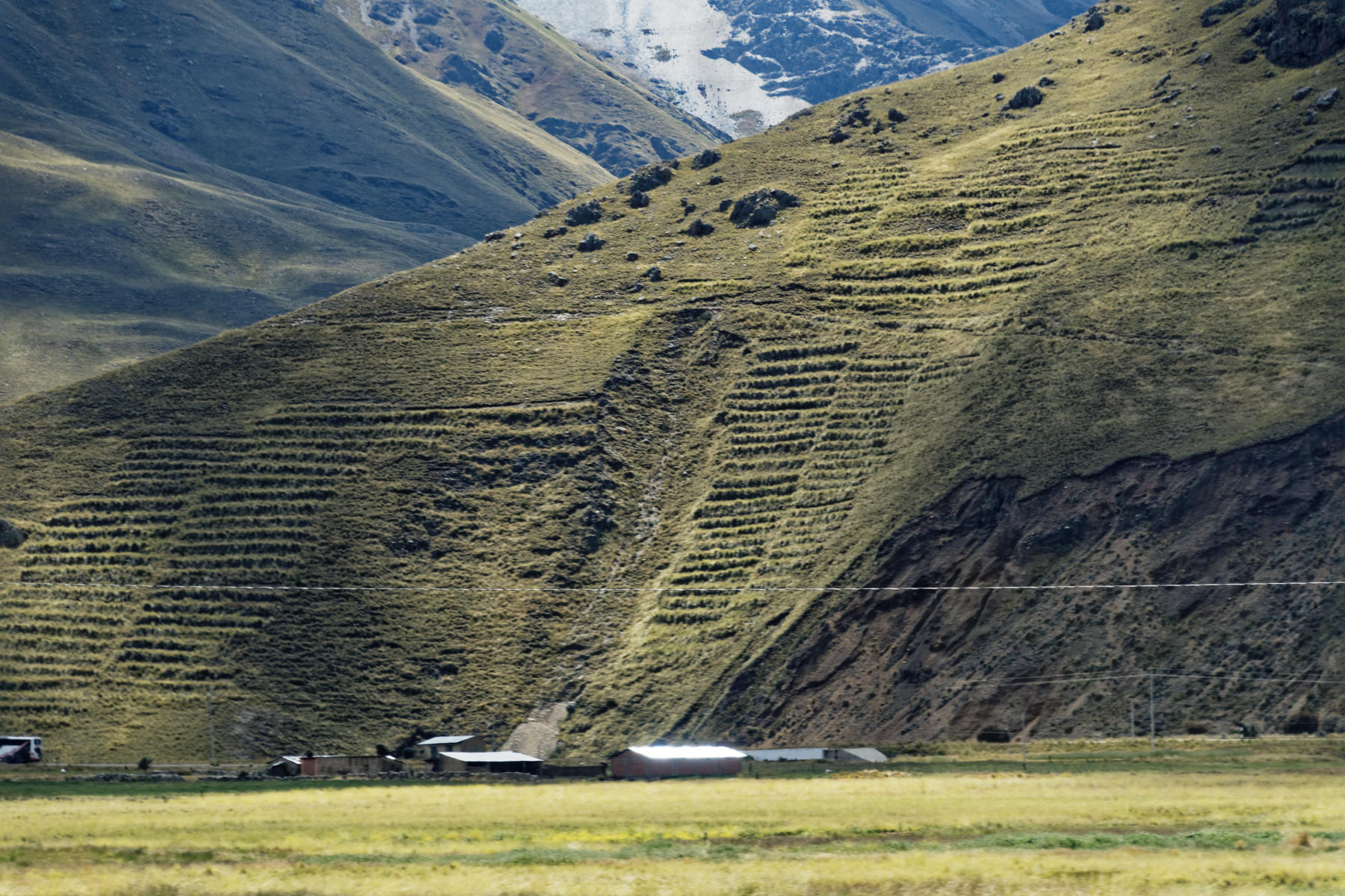 Landscape seen on the Titicaca Train