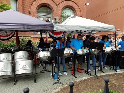 Trinidad & Tobago Steel Drum Performance
