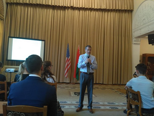 Встреча с участием временного поверенного в делах США  в Республике Беларусь