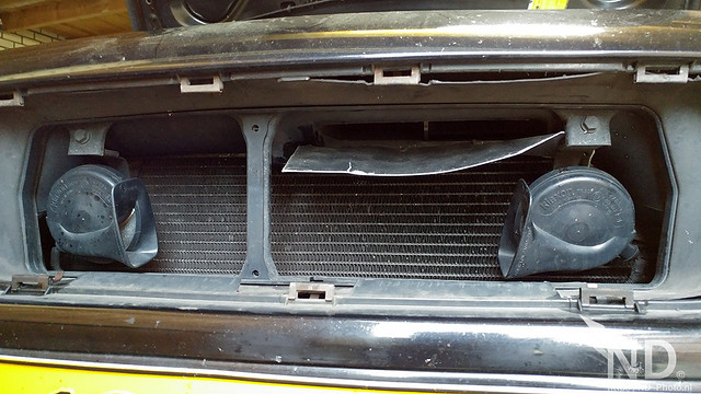 Volvo S80 2.4T Air Intake Mod