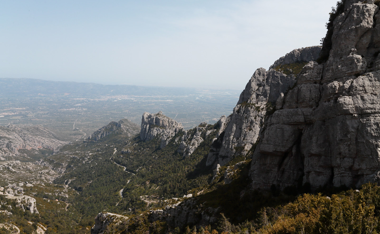 Mont Caro - views from