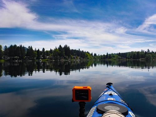Lake Samish Paddling-61