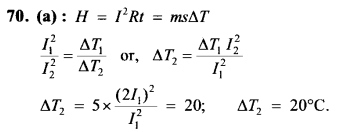 NEET AIPMT Physics Chapter Wise Solutions - Current Electricity explanation 70