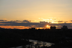Sunset in yyc