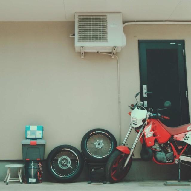 Motorbike tires