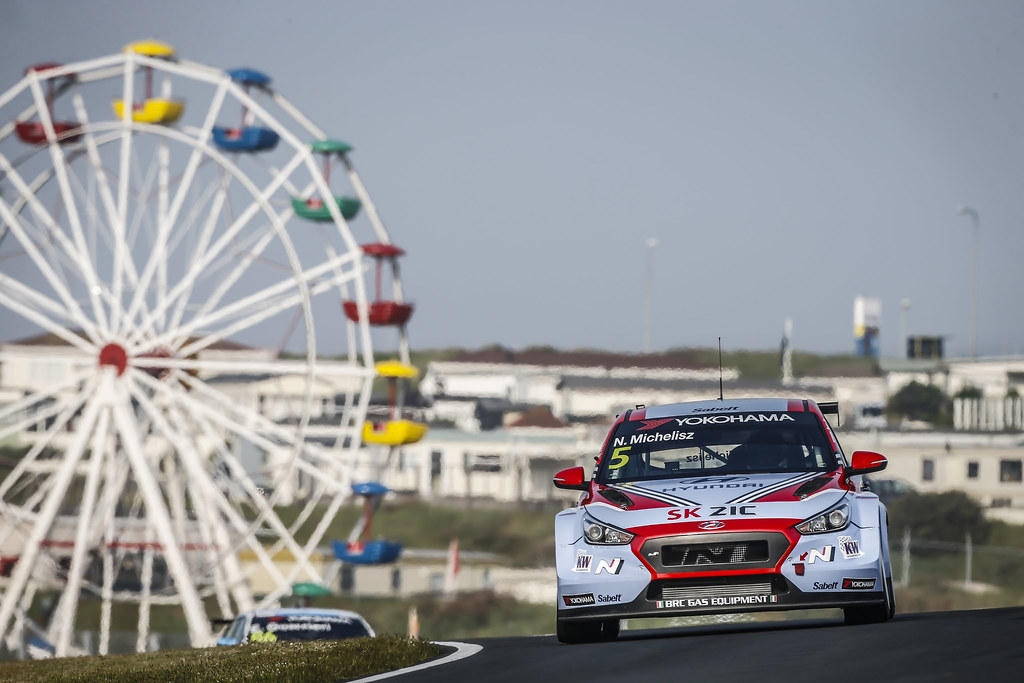 05 MICHELISZ Norbert, (hun), Hyundai i30 N TCR team BRC Racing, action during the 2018 FIA WTCR World Touring Car cup of Zandvoort, Netherlands from May 19 to 21 - Photo Francois Flamand / DPPI