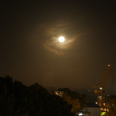 Full Moon over Cadiz