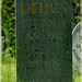 Frederick Theodore Albert Delius gravestone.