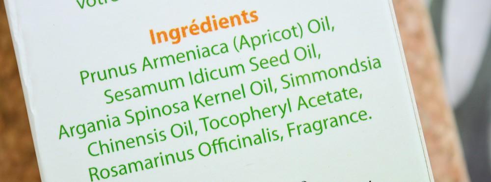 Hair oil of argan oil