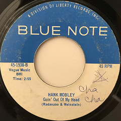HANK MOBLEY:REACH OUT I'LL BE THERE(LABEL SIDE-B)