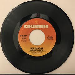 BOZ SCAGGS:LOWDOWN(RECORD SIDE-B)