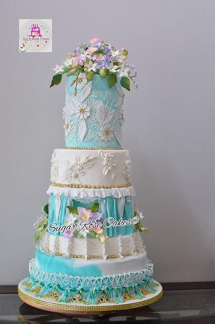Cake by Sugar Rose Cakes
