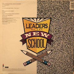 LEADERS OF THE NEW SCHOOL:THE INTERNATIONAL ZONE COASTER(JACKET B)