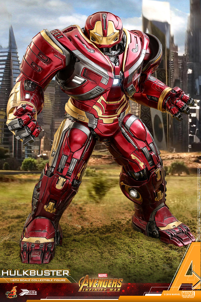 Hot Toys – PPS005 – 《復仇者聯盟:無限之戰》1/6 比例 浩克毀滅者 馬克2  Avengers: Infinity War Power Pose Hulkbuster Mark II