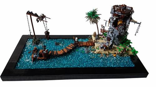 coast gard #Lego #Lego pirate #pirates #castel #moc pirate