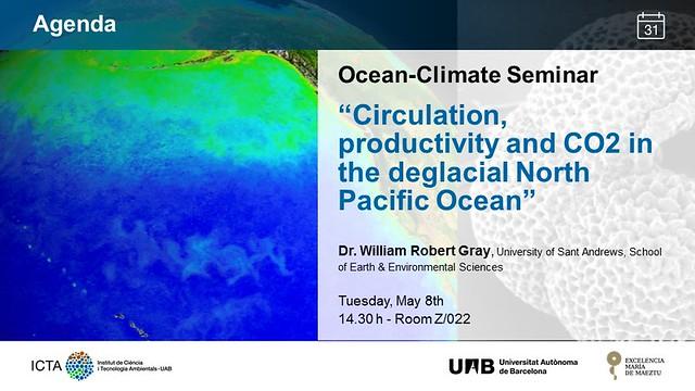 Ocean -Climate Seminar 08_05_2018