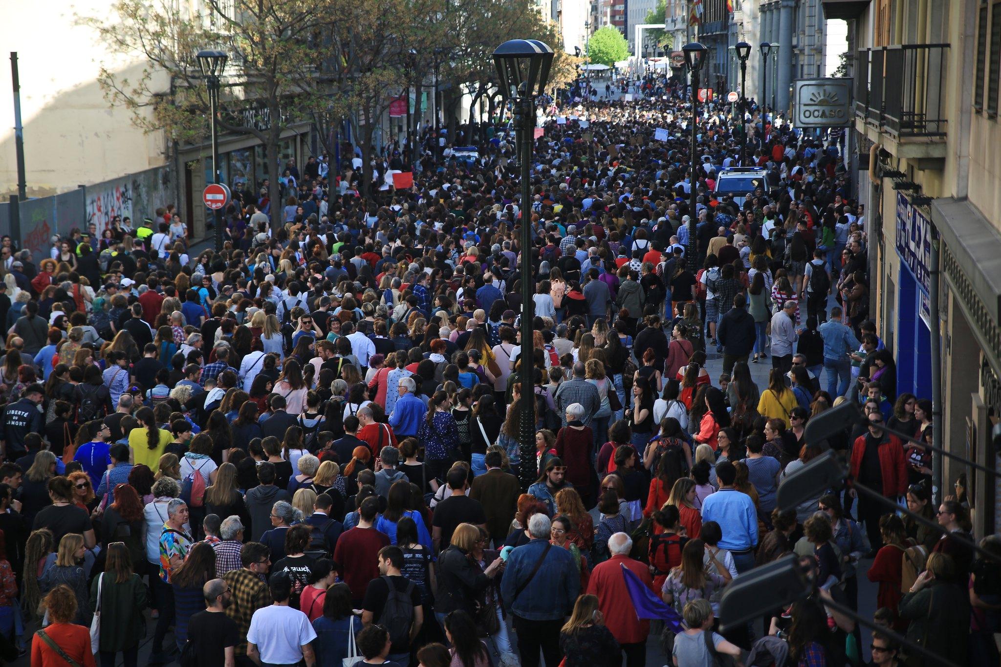 Manifestación La Manada Zaragoza (11)