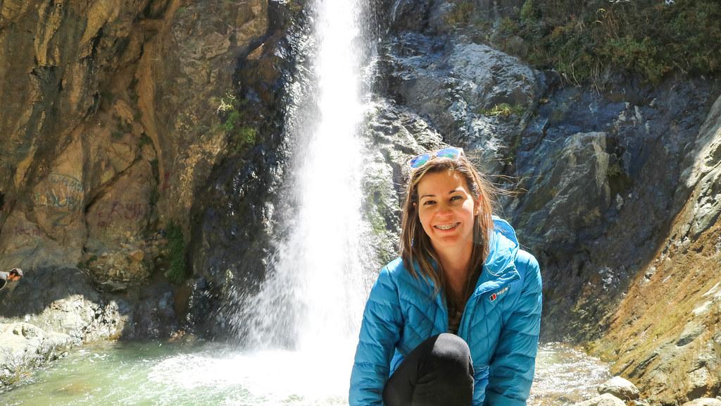 Sendero hasta las cascadas de Ourika