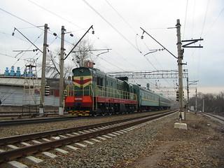RZD ChME3-2992, Paveletskoye direction, ZIL