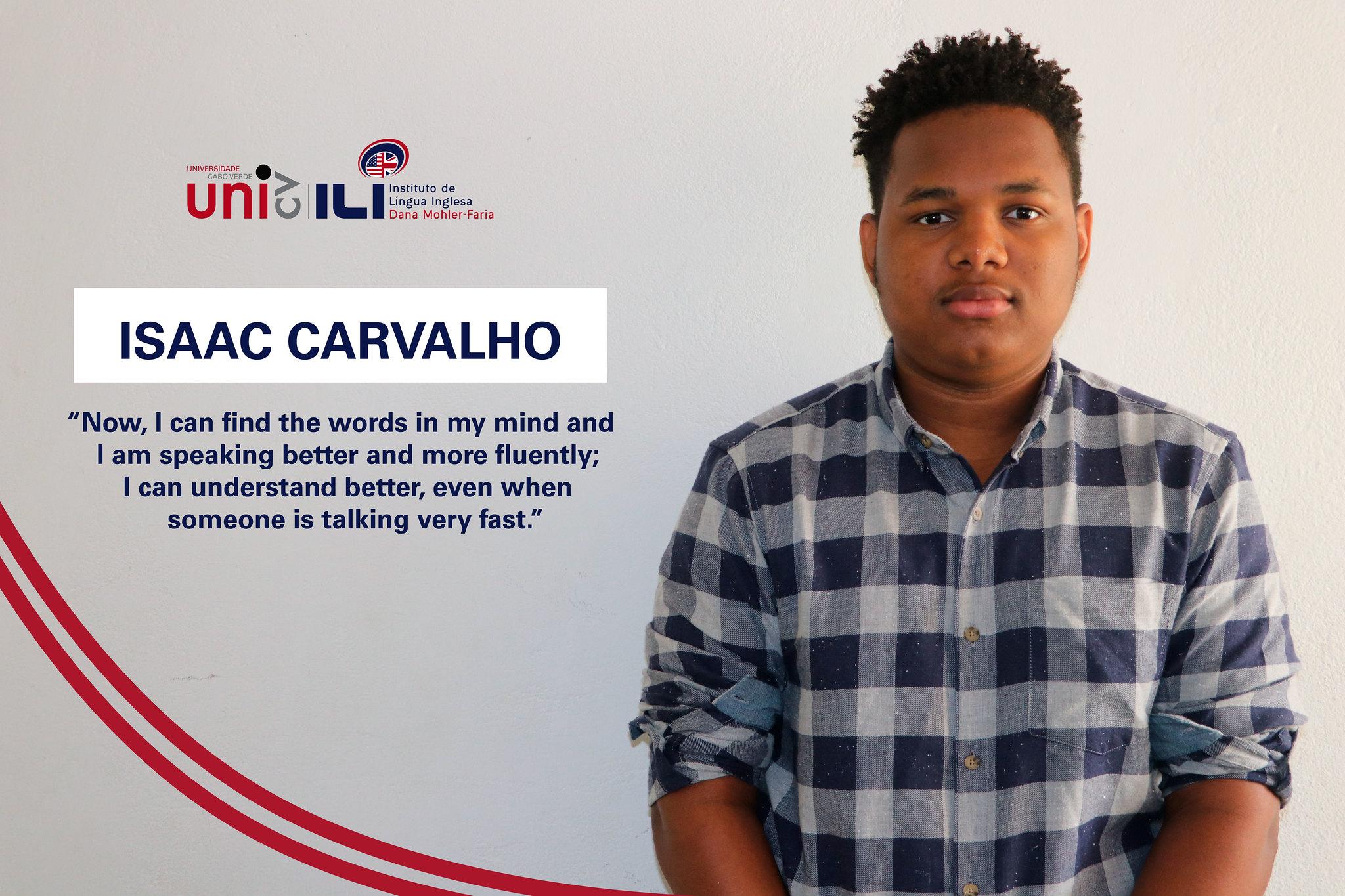 Isaac Carvalho's Testimony