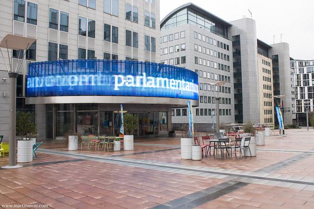 Parlamentarium, quartiere europeo di Bruxelles