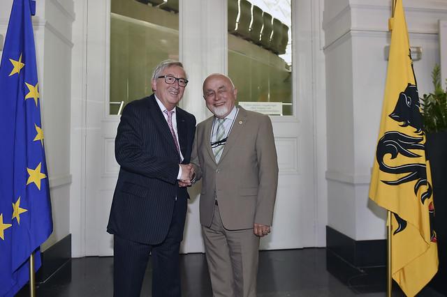 9 mei 2018, Bezoek EU-Commissievoorzitter Jean-Claude Juncker