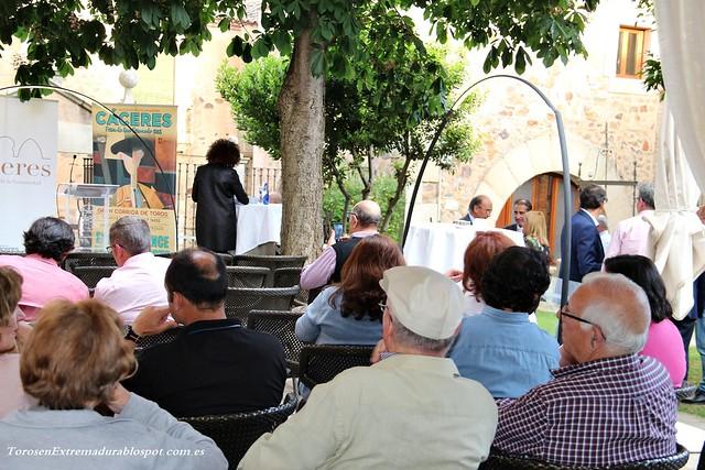 Presentación Cartel Taurino de Cáceres