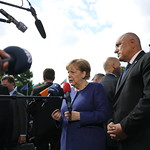 EU – Western Balkans Summit: Angela Merkel Arrival