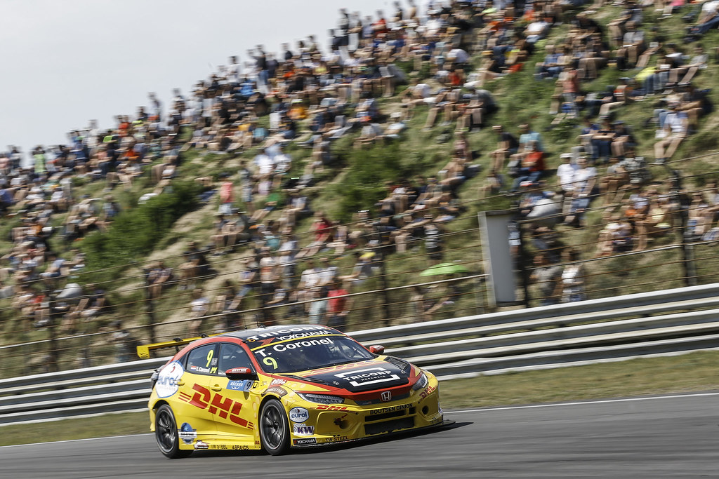 09 CORONEL Tom, (nld), Honda Civic TCR team Boutsen Ginion racing, action during the 2018 FIA WTCR World Touring Car cup of Zandvoort, Netherlands from May 19 to 21 - Photo Jean Michel Le Meur / DPPI