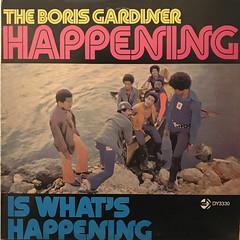 THE BORIS GARDINER HAPPENING:IS WHAT'S HAPPENING(JACKET A)