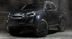 If Batman Was A Farmer: Isuzu D-Max AT35 Ditches Chrome For A Stealthier Look