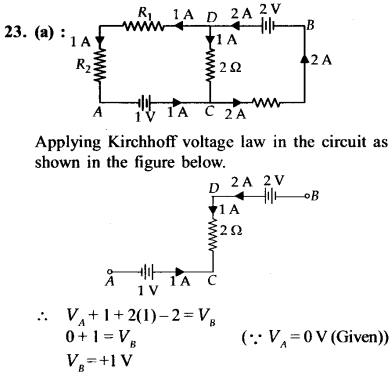 NEET AIPMT Physics Chapter Wise Solutions - Current Electricity explanation 23