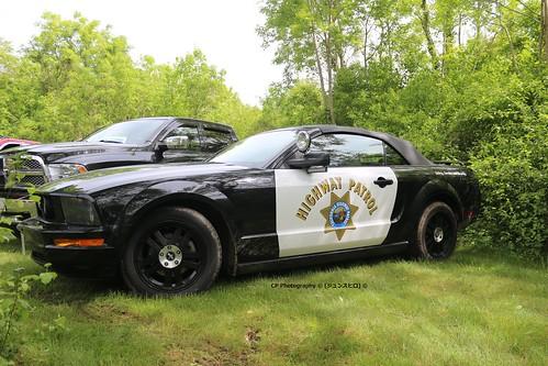 Ford Mustang Highway Patrol LA