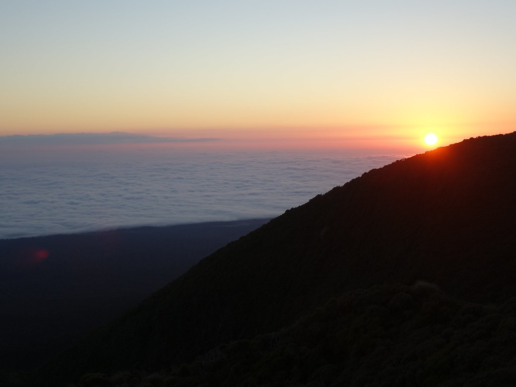 Sunrise on Mount Taranaki
