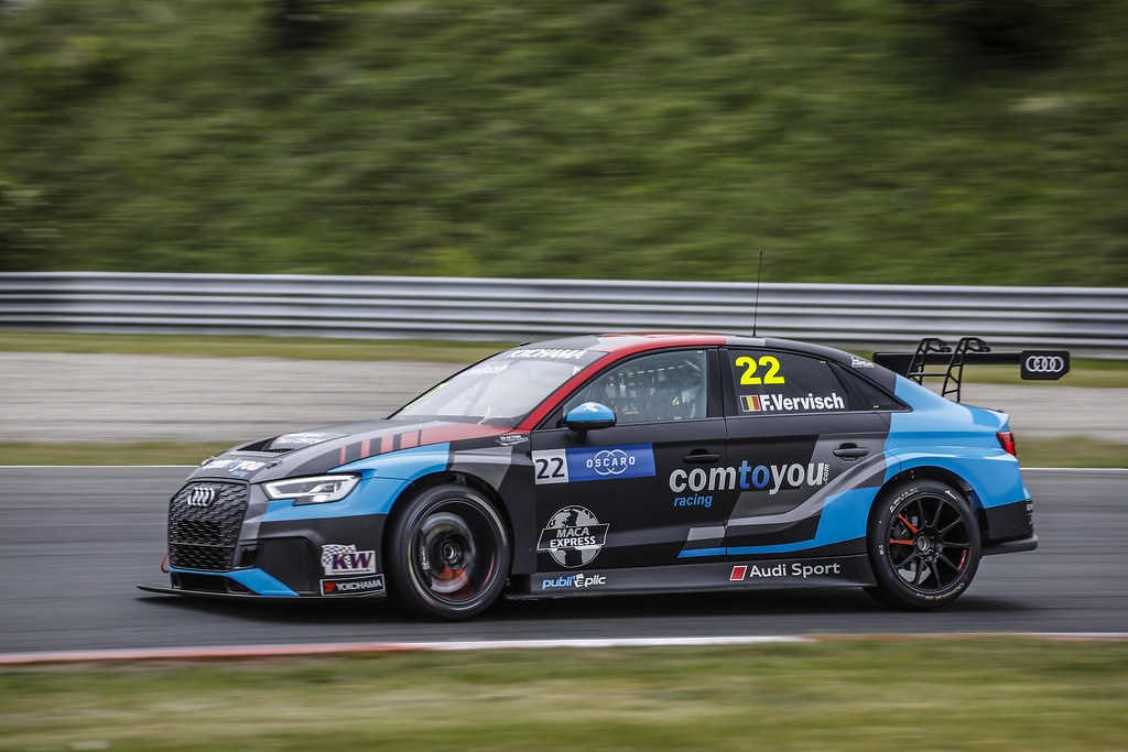 22 VERVISCH Frederic, (bel), Audi RS3 LMS TCR team Comtoyou Racing, action during the 2018 FIA WTCR World Touring Car cup of Zandvoort, Netherlands from May 19 to 21 - Photo Francois Flamand / DPPI