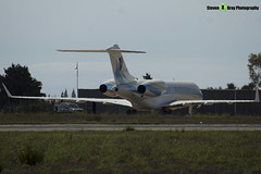 5A-UAC - 9257 - Private - Bombardier Global 5000 - Luqa Malta 2017 - 170923 - Steven Gray - IMG_0018