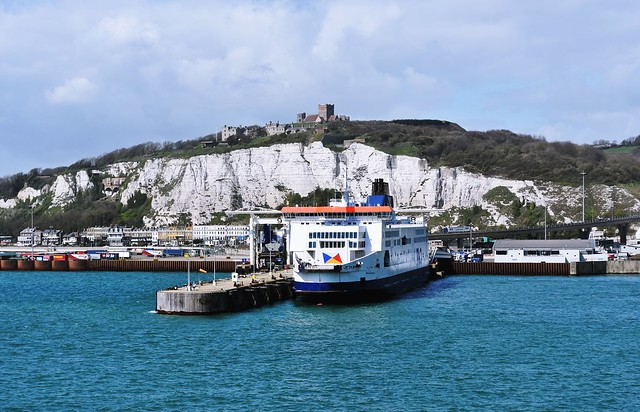 The Port of Dover and Dover Castle