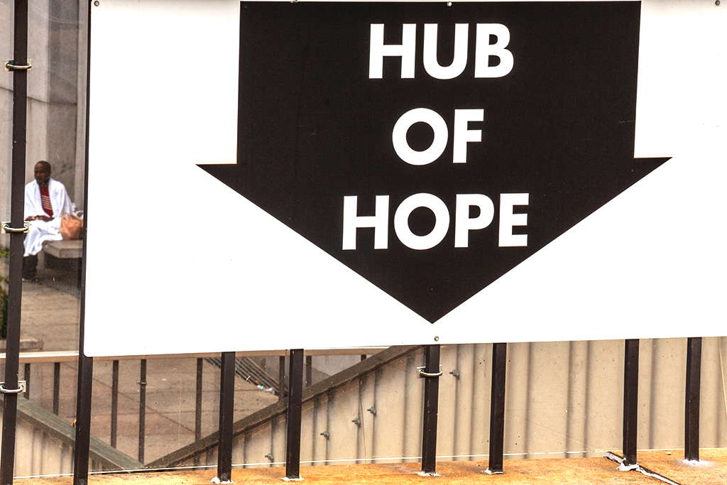 HUB OF HOPE--Center City
