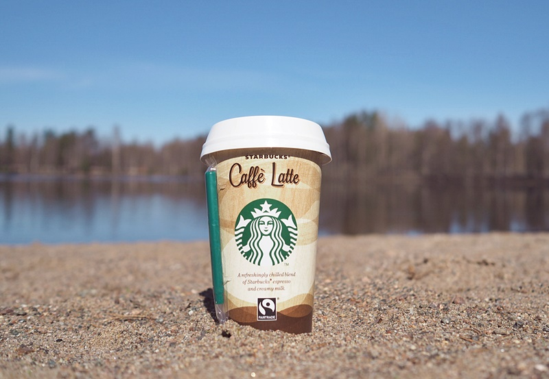 caffe latte starbucks rantajuoma