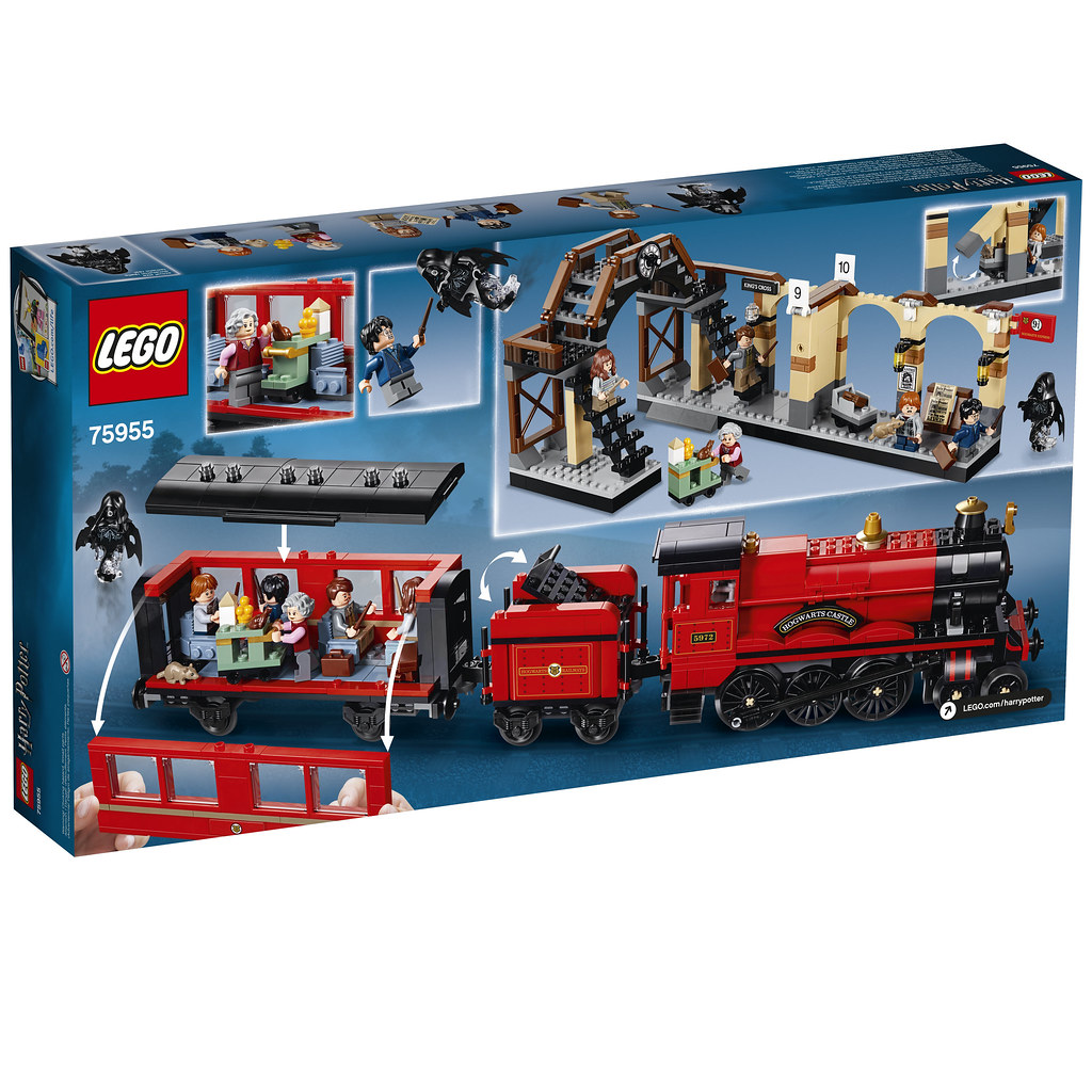 75955 Harry Potter Hogwarts Express Full Box Front