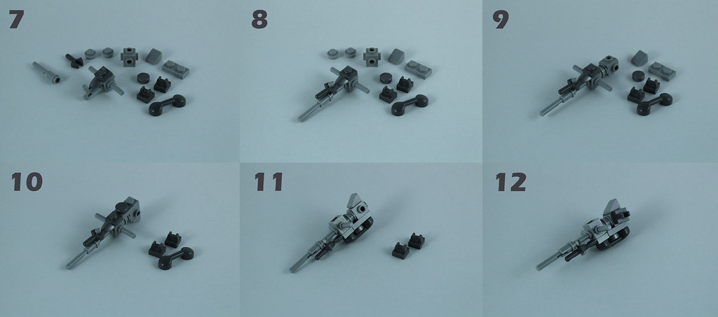 Lego AT-RT Tutorial 4/8 – Building the body and antipersonnel cannon