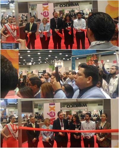 Pabellón de México en la Feria Comercial Canadian Produce Marketing Association