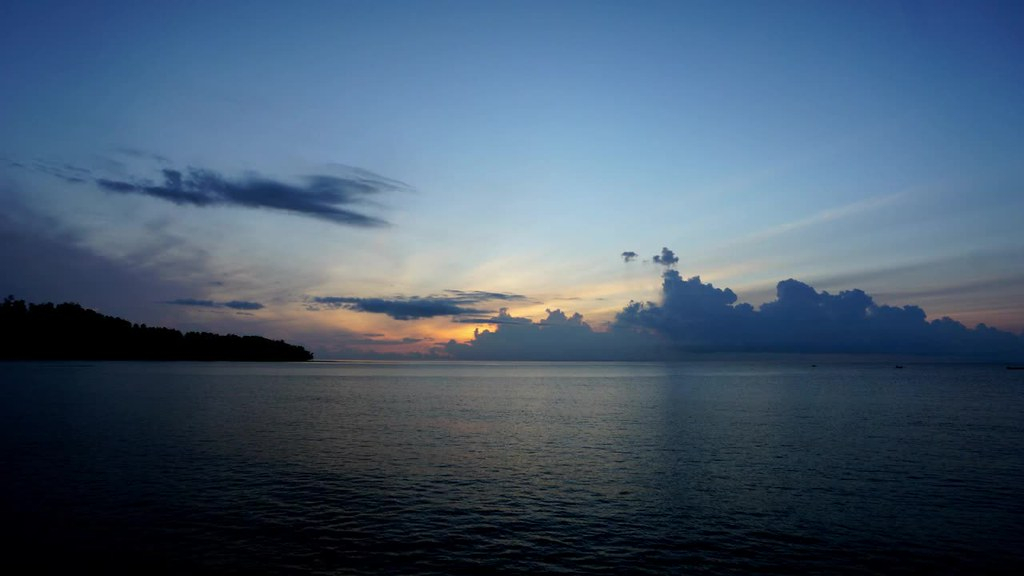 Sunrise at Waisai, Raja Ampat