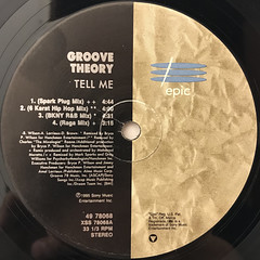 GROOVE THEORY:TELL ME(REMIXES)(LABEL SIDE-A)