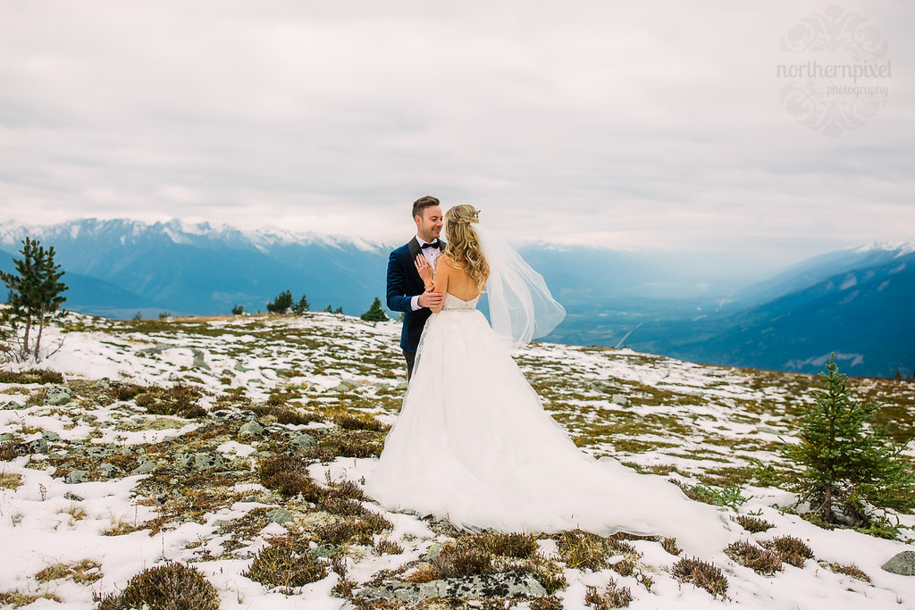 Mountaintop Wedding - Mount Terry Fox British Columbia