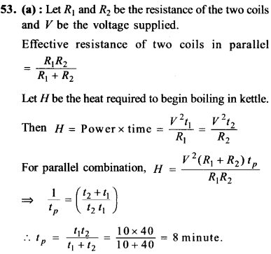 NEET AIPMT Physics Chapter Wise Solutions - Current Electricity explanation 53